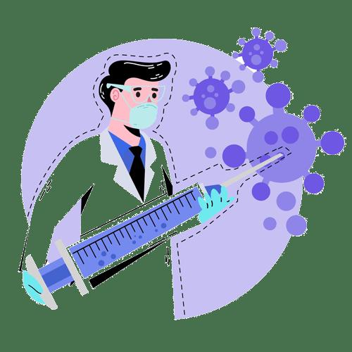 פחד ממחטים לאור חיסון הקורונה
