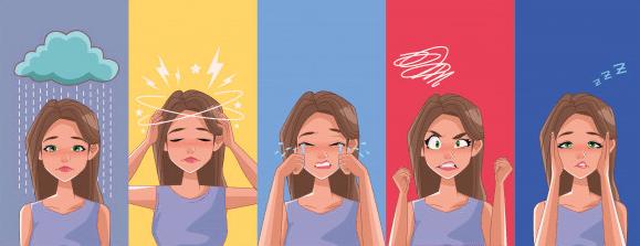 סימפטומים של חרדות